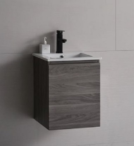 Baron Basin with cabinet A106-French-Plane-Wood