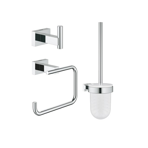 Grohe Essentials Cube 40757001 Bathroom Accessories Set