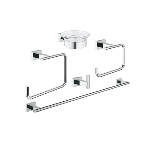 Grohe Essentials Cube 40758001 Bathroom Accessories Set