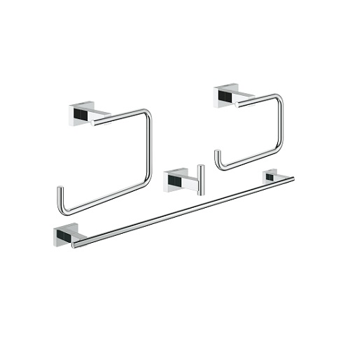 Grohe Essentials Cube 40778001 Bathroom Accessories Set