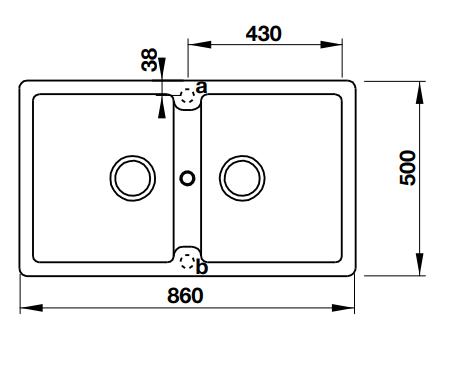 Hafele Antonious-HS-GD8650-Black Specification 1