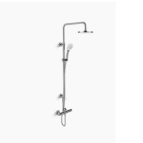 Kohler K-45352T-C9E2-CP July 2 way Shower Column