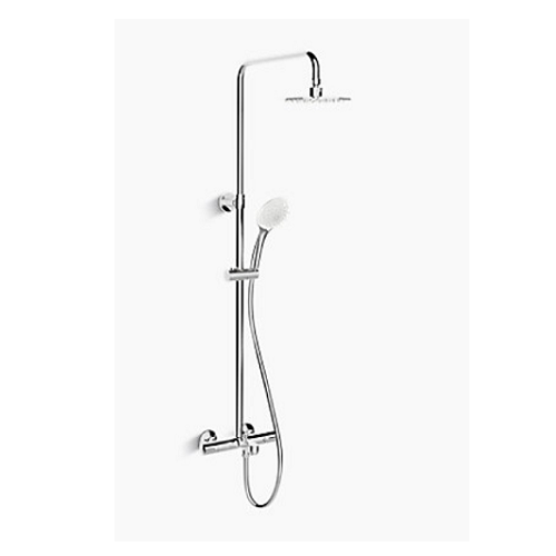 Kohler K-99741T-C9E2-CP July Thermostatic 3 way Shower Column