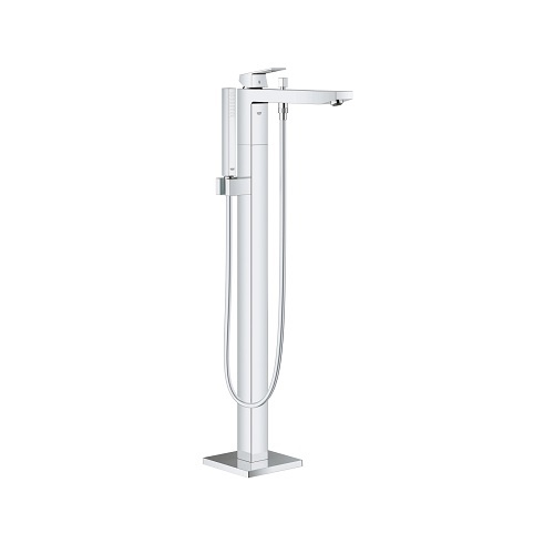 Eurocube Single-lever bath mixer floor mounted 23672001