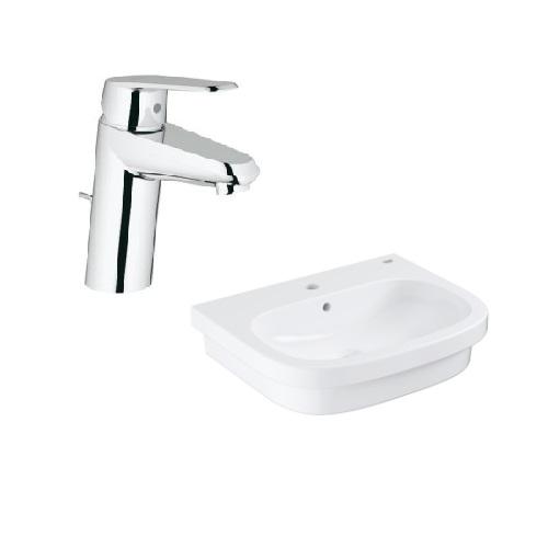 Grohe Eurosmart Counter top basin 60 with Basin Mixer 3319020E