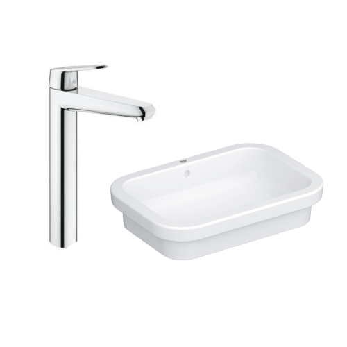 Grohe Eurosmart Vessel Basin 60 with Basin Mixer 23432000