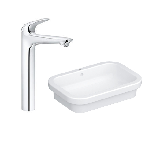 Grohe Eurosmart Vessel Basin 60 with Basin Mixer 23719003