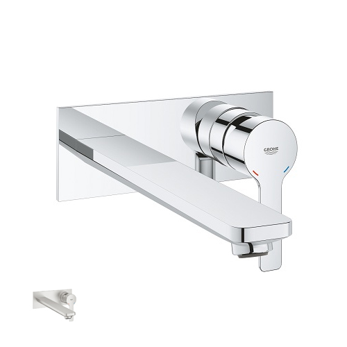 Grohe Lineare 23444001 2-Hole Single-Lever Basin Mixer L Size colour