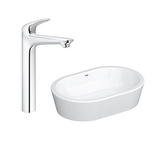 Grohe Vessel Basin 60 with Basin Mixer 23719003