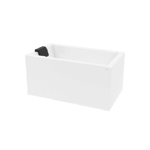 Hera Bathtub 3040-1200 mm Rect with 2-sided skirting