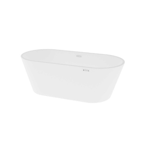 Hera Bathtub 3045 Oval 2-side slope without faucet panel