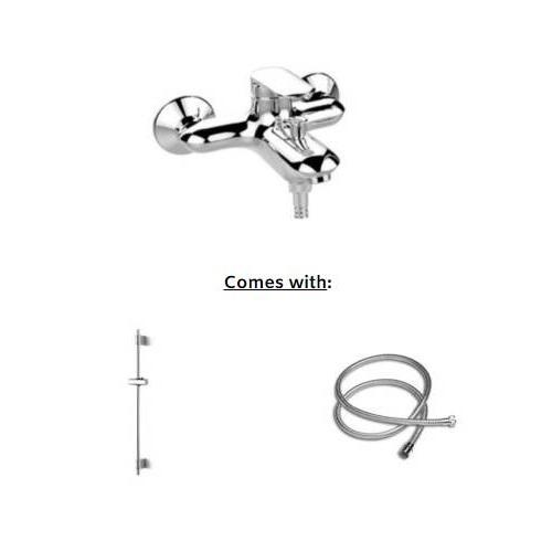 Kohler Kumin wallmount Bath-Shower Faucet K-99460T-4E2-CP