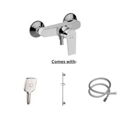 Kohler Taut Exposed Shower Faucet K-74035T-4E2-CP