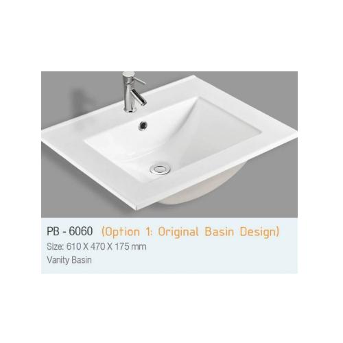 Zaffiro Vanity Basin PB-6260
