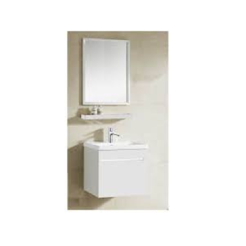 Zaffiro Basin with cabinet miror and shelf PHT-5040W-50