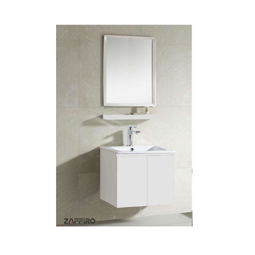 Zaffiro basin with cabinet mirror PHT-8161W-54