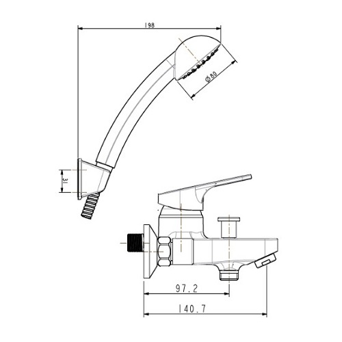 American Standard Concept Round FFAS1411-601500BF0 Specification (2)