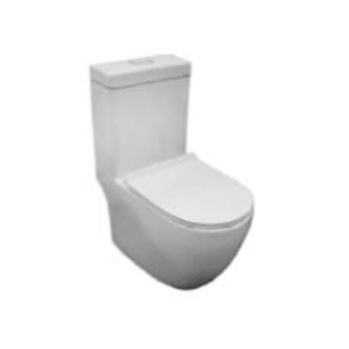 Baron W818 Rimless One piece Toilet Bowl