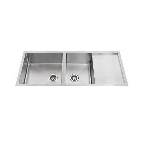 Monic SQM-1308 Double bowl with drainer kitchen sink