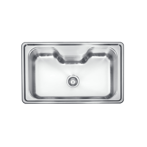 Monic i-690 Inset Mount Single Bowl kitchen sink