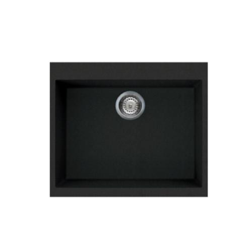 Rubine MEQ 810-61 Meteor Series Granite Top-mount Kitchen Sink