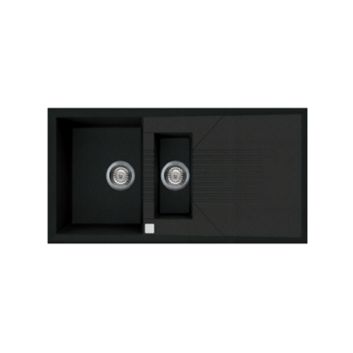 Rubine MEQ 851 Meteor Series Granite Top-mount Kitchen Sink