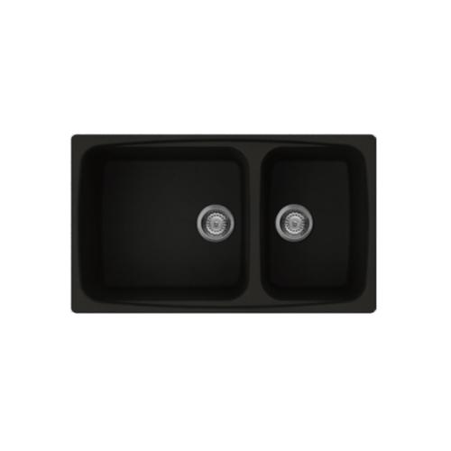 Rubine MEQ 860-86 Meteor Series Granite Top-mount Kitchen Sink