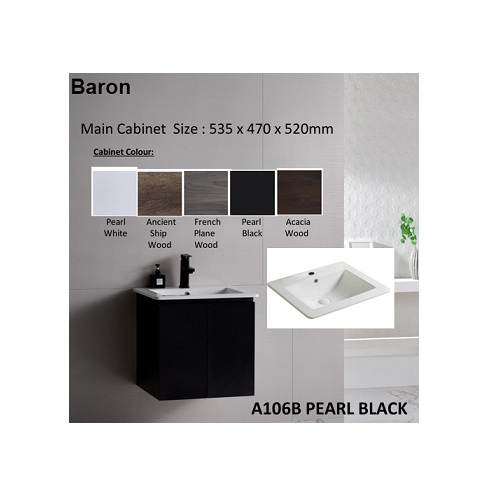 Baron A106B-Pearl Black- specification