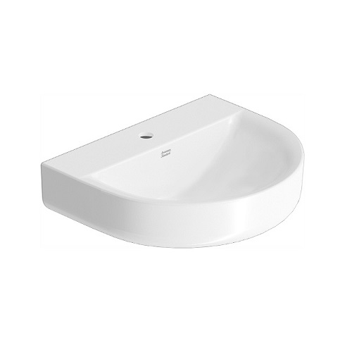 Concept D shape CL0553I-6DACTLWtf wall hung basin
