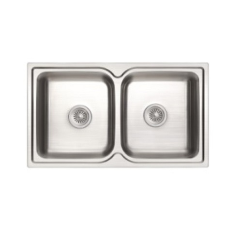 Rubine Zenith ZEX 820 Double bowl Kitchen sink