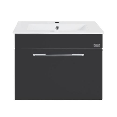 Rubine RBF-1164D1 BK Basin Cabinet Black