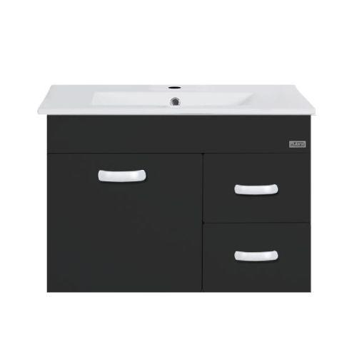Rubine RBF-1274D3 BK Basin Cabinet Black