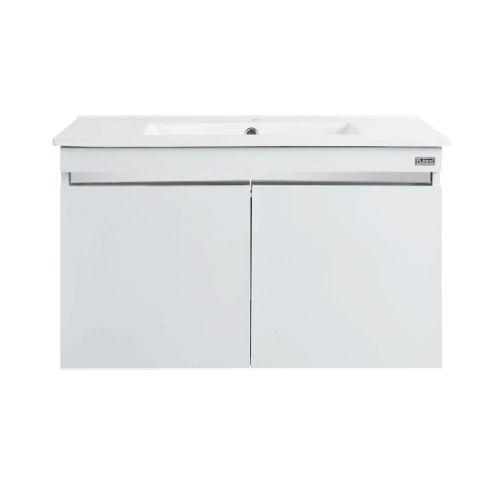 Rubine RBF-1384D2 (I) WH Basin Cabinet Pearl white