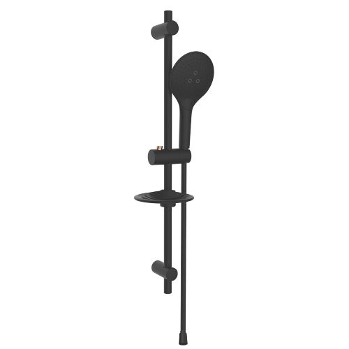 Rubine RSH-OBI-516-BK Shower set Black
