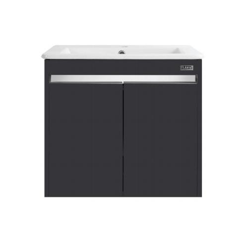 Rubine RBF-1554D2 BK Basin Cabinet Black