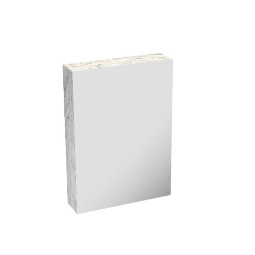 HERA5070MC-LA Mirror cabinet Light Ash