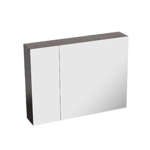 HERA8060MC-BS Mirror cabinet Brown stone
