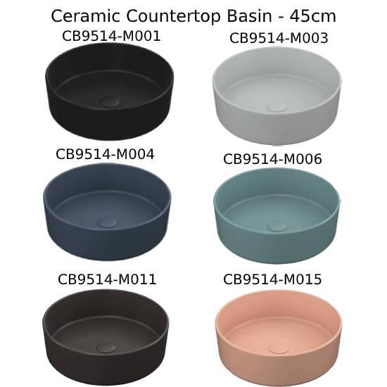 Hera 45 cm Ceramic Basin