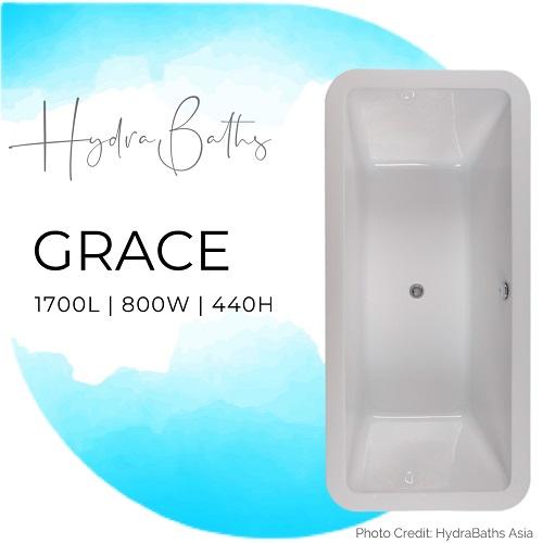 Hydrabath Grace acrylic bathtub