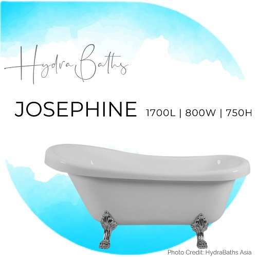 Hydrabath JOSEPHINE Acrylic Bathtub