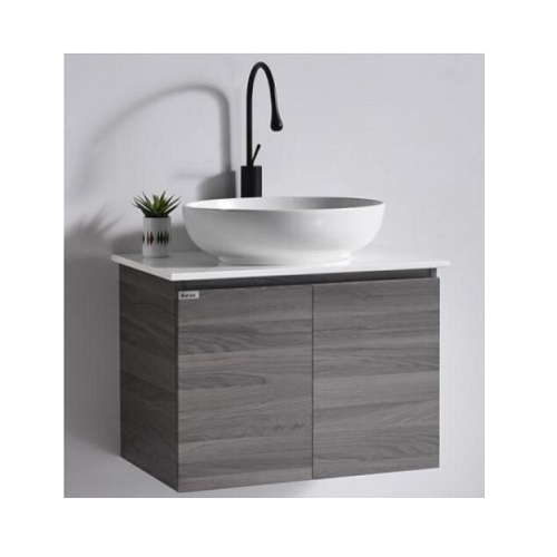 Baron A107 Basin Cabinet with Solid Top Basin