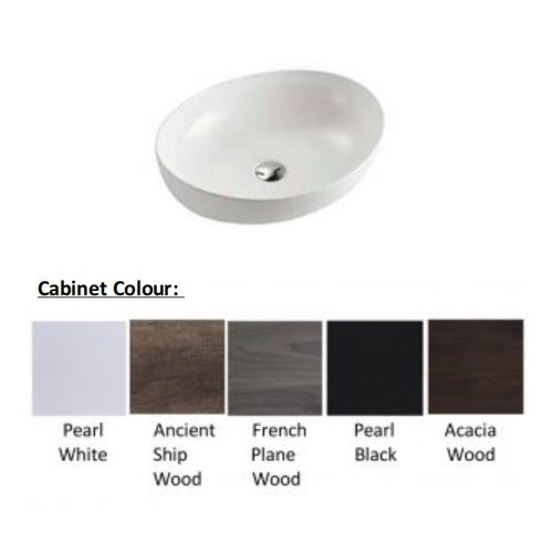Baron A107 Cabinet colors solid top