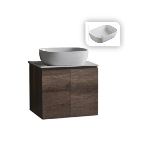 Baron B84 basin cabinet with solid top