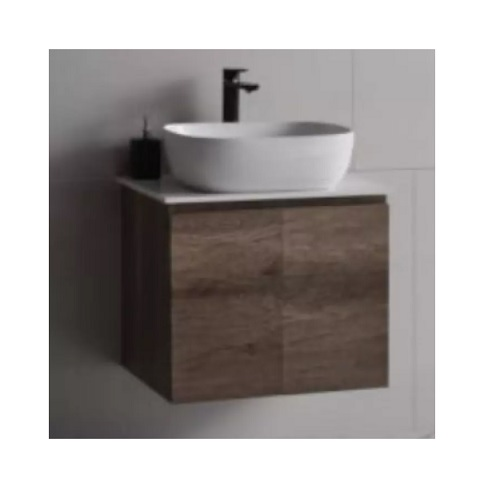 Baron B84 vanity cabinet with solid top basin