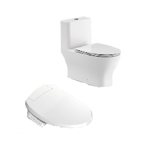 Kohler Reach Up 1pc Toilet with C3-050 Bidet Seat