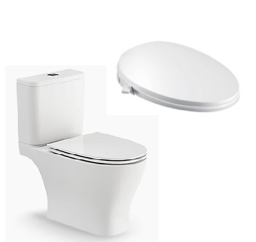 Kohler Reach Up 2pc Toilet with C3-030 Bidet seat